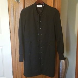 Perse black heavy weight jacket